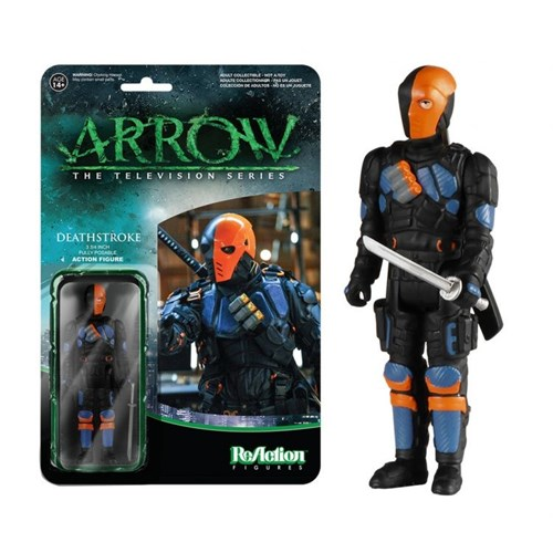 Funko Reaction Arrow Deathstroke
