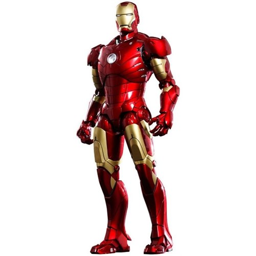 Hot Toys Iron Man Mark Iıı Die Cast 12 Inch Figure