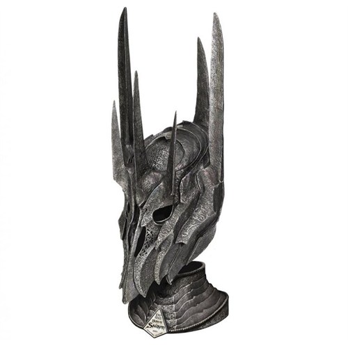 United Cutlery Lord Of The Rings Helm Of Sauron With Stand