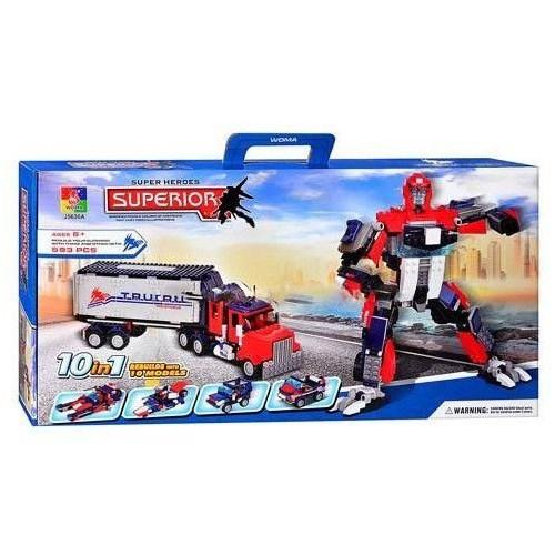 10 Model 1 Kutuda Transformers Lego Seti
