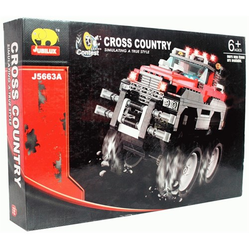 10 Model 1 Kutuda Cross Country Lego Seti