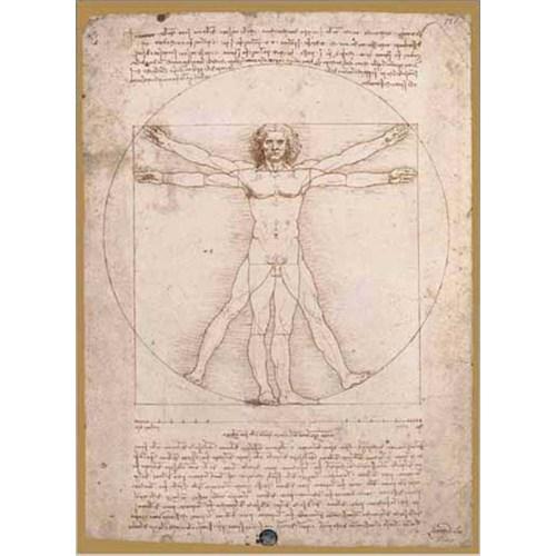 Ricordi Puzzle L'uomo Vitruviano - Leonardo Da Vinci (250 Parça)