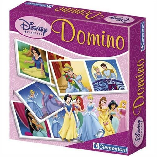 Clementoni Çocuk Domino Pocket Princess