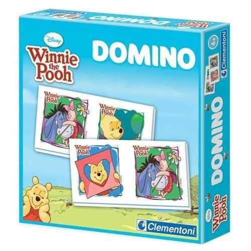 Clementoni Çocuk Domino Pocket Winnie New