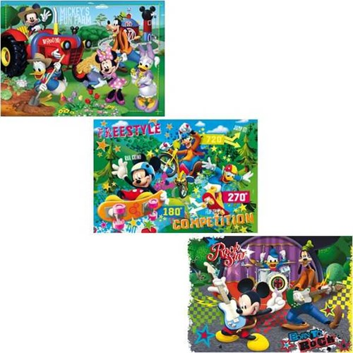 Clementoni Çocuk Mickey (3X48 Parça)