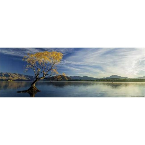 Heye Lake Wanaka - Humboldt (1000 Parça - Panorama)