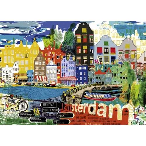Heye I Love Amsterdam! (1000 Parça)