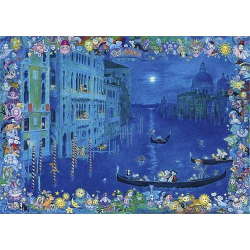 Heye Cats In Venice - Hartmann (1000 Parça)
