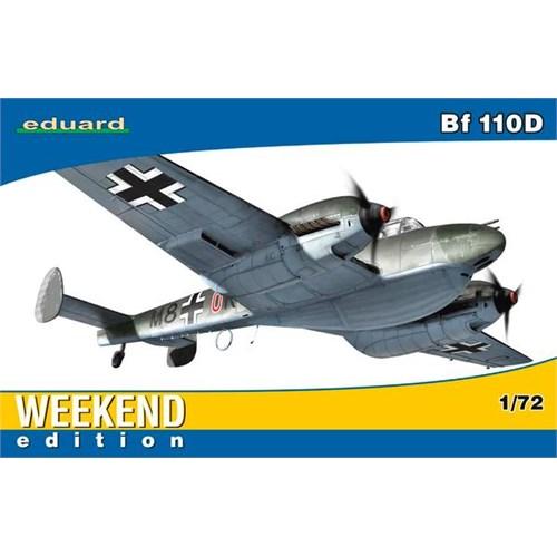 Eduard Bf 110D (1/72 Ölçek)