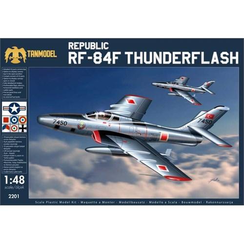 Tanmodel Rf-84F Tunderflash (1/48 Ölçek)