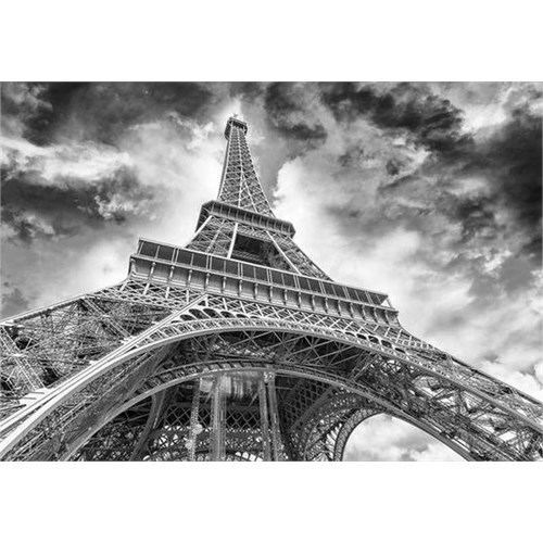 Dino Puzzle Clouds Over The Eiffel Tower (1500 Parça)