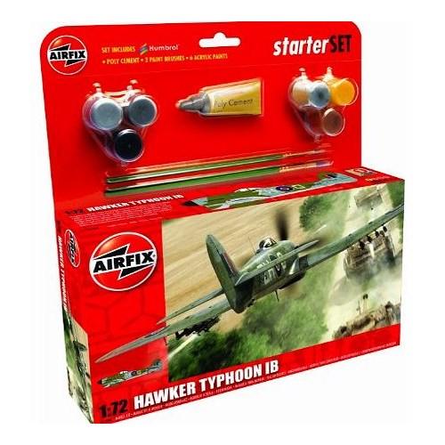 Airfix Kit Uçak Orta Hawker Typhoon (1/72 Ölçek)