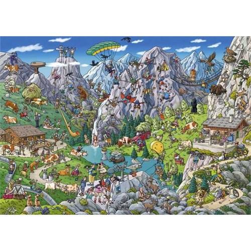 Heye Alpine Fun - Tanck (1000 Parça)