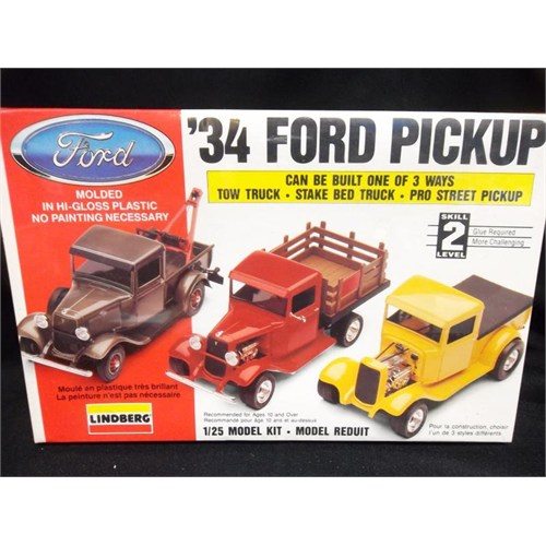 Lindberg 34 Ford Pick-Up (1725 Ölçek)