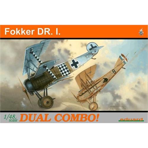 Eduard Fokker Dr.I Dual Combo (1/48 Ölçek)
