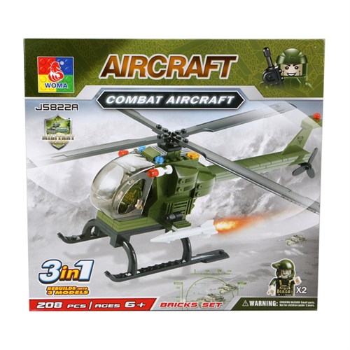 Askeri Ölümsüz Helikopter Lego Seti