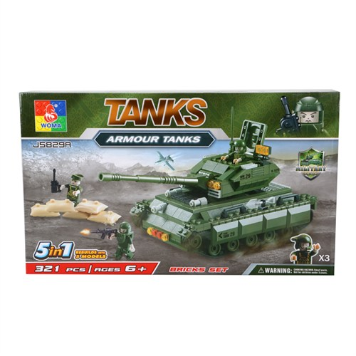 5 Model 1 Kutuda Askeri Tanklar Lego Seti