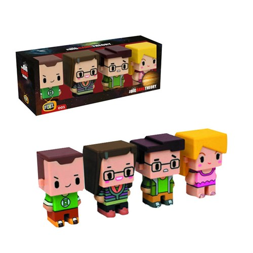 Sd Toys The Big Bang Theory: Pixel Set Of Four 001