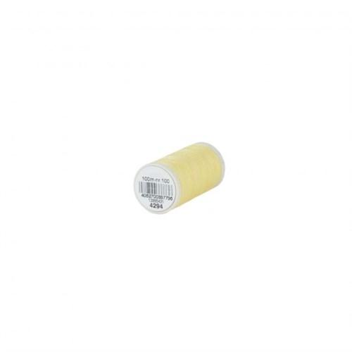 Coats Duet 100 Metre Sarı Dikiş İpliği - 4294