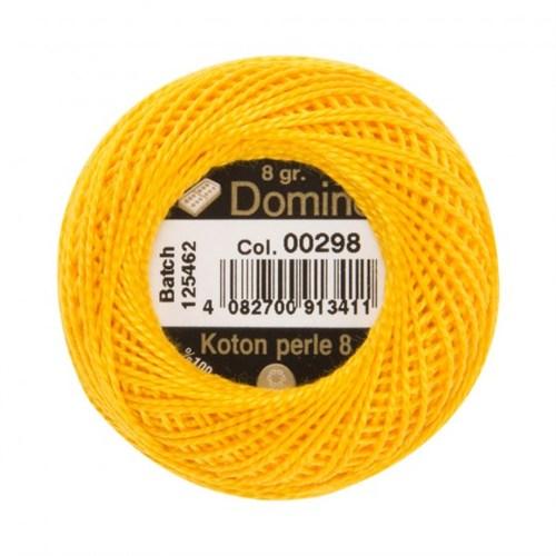 Coats Domino 8Gr Sarı No: 8 Nakış İpliği - 00298