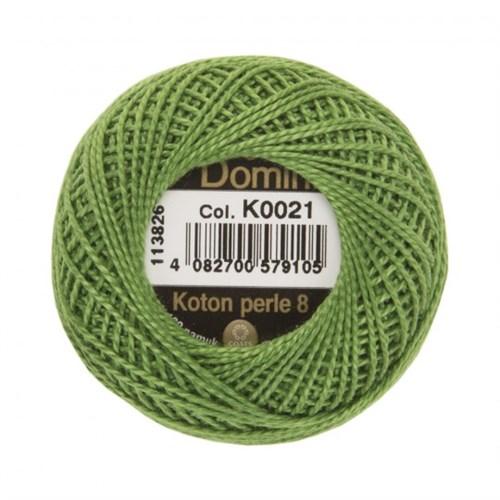 Coats Domino 8Gr Yeşil No: 8 Nakış İpliği - K0021