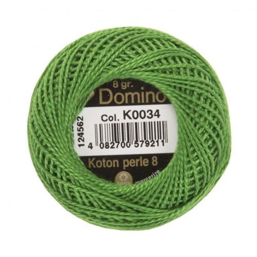 Coats Domino 8Gr Yeşil No: 8 Nakış İpliği - K0034