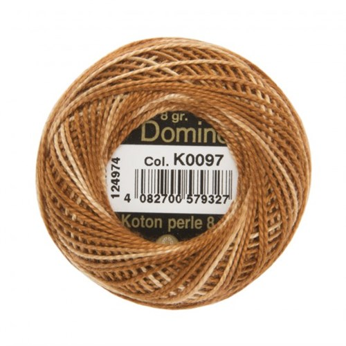 Coats Domino 8Gr Ebruli No: 8 Nakış İpliği - K0097