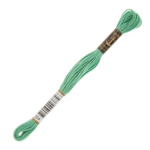 Anchor Muline 8M Yeşil Nakış İpliği - 0204