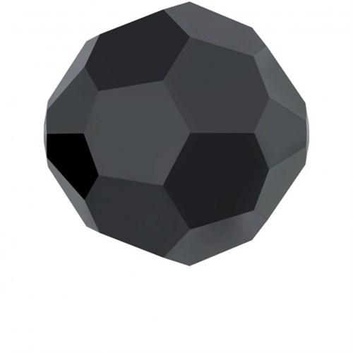 Swarovski 20 Adet 4 Mm Siyah Kristal Boncuk - 5000