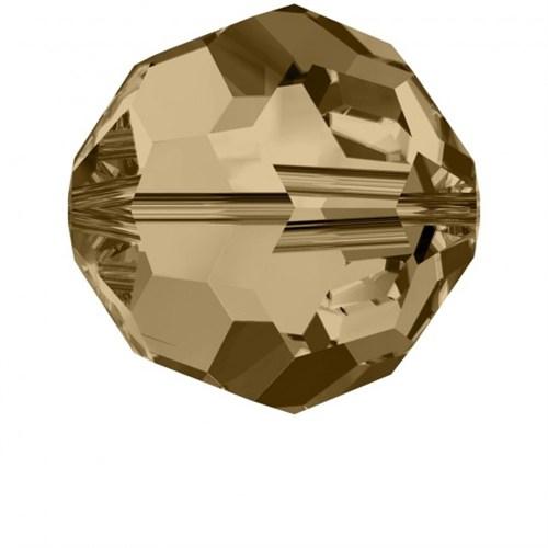 Swarovski 4 Adet 10 Mm Gölgeli Kristal Boncuk - 5000