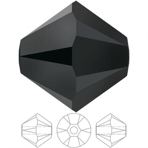 Zirkon 20 Adet 5 Mm Kristal Konik Boncuk - 5328