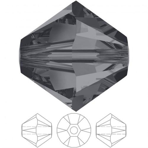 Swarovski 20 Adet 5 Mm Gölgeli Kristal Konik Boncuk