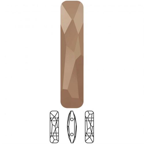Swarovski 1 Adet Dikdörtgen Boncuk - 5535