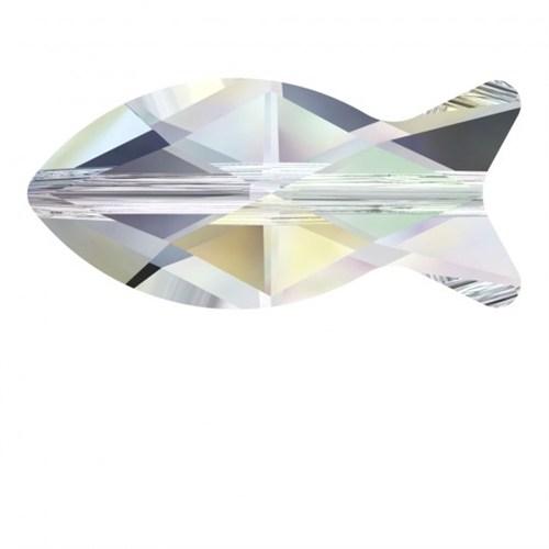 Zirkon 1 Adet Kristal Balık Boncuk - 5727