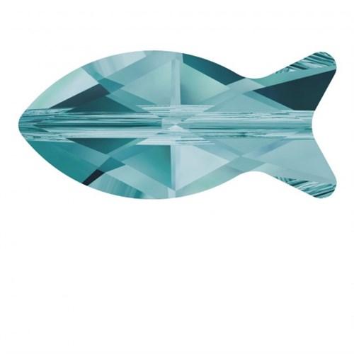 Swarovski 1 Adet Kristal Balık Boncuk - 5727