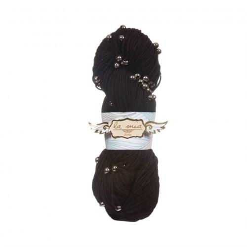 La Mia Perla Siyah El Örgü İpi