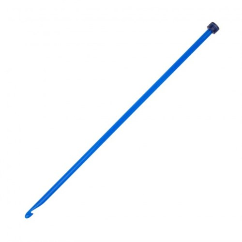 Knitpro Trendz 7 Mm 30 Cm Mavi Gagalı Şiş Tunus Tığı - 51405