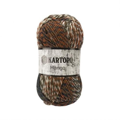 Kartopu Mango Ebruli El Örgü İpi - D2216