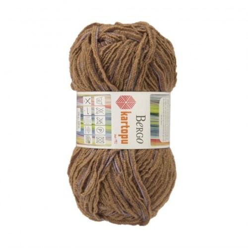 Kartopu Bergo Kahverengi El Örgü İpi -Mu01024