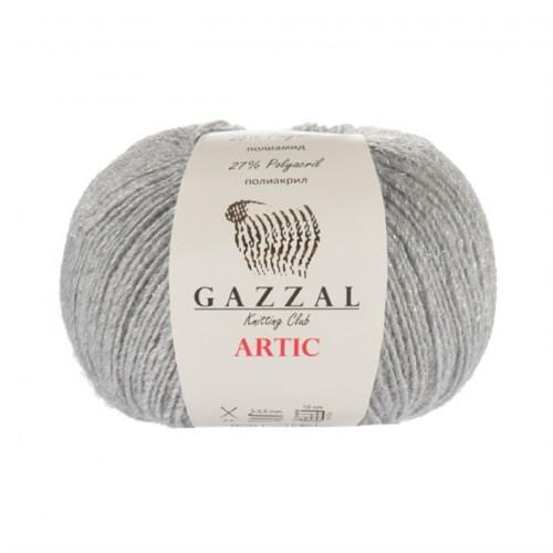 Gazzal Artic Gri El Örgü İpi - 12