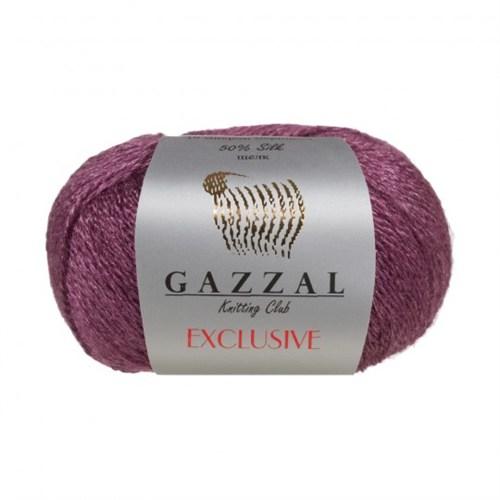 Gazzal Exclusive Mor El Örgü İpi - 9910