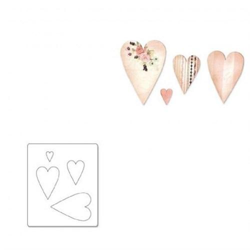 Sizzix Primitive Kalpler Kalıbı 3 - 1657021