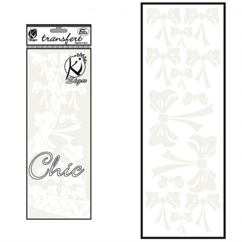 Ki-Sign Kadife Dokulu Fiyonk Ütüyle Yapışan Desen Kağıdı - Ksfd-26