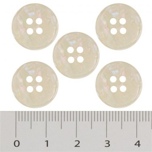 Hobium Küçük Boy Beyaz Fantazi Düğme