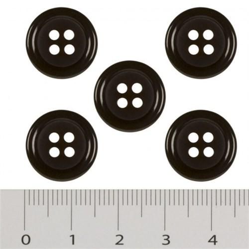 Hobium Küçük Boy Kahverengi Fantazi Düğme