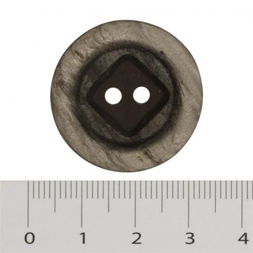 Hobium Büyük Boy Koyu Gri Fantazi Düğme