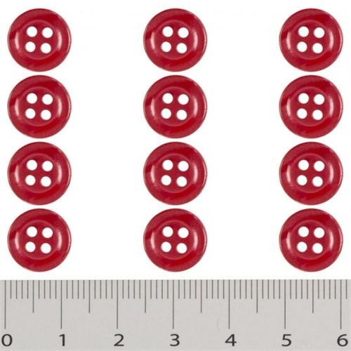 Hobium Kırmızı Fantazi Düğme