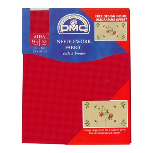 Dmc 35X45 Cm 14 Ct Parça Etamin Kumaşı - Dc27-321
