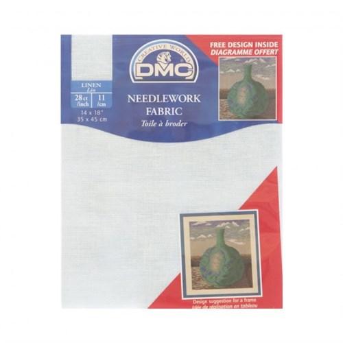 Dmc 35X45 Cm 28 Ct Keten Nakış Kumaşı – Dc47-312