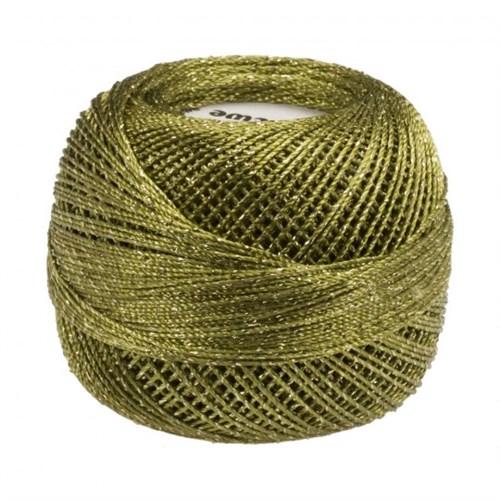 Diva Line Old Ewe Lurex Yeşil Kroşe İpliği - 470